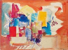 Hans Hofmann, Untitled (M-647/1)