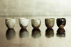 Rustic-Ceramic-Sake-Cups-Nom-Living | Part of the Nom Living… | Flickr