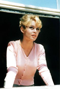 Look -- I think Brigitte Bardot had the same cowlicks in her bangs as me ... We have sooo much in common.