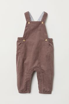 Bib overalls in soft organic cotton corduroy. Elastication at back of waist, buttons at sides, Baby Outfits, Newborn Outfits, Cute Outfits For Kids, Toddler Outfits, Baby Boy Fashion, Toddler Fashion, Kids Fashion, Fashion Tips, Style Salopette