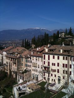 Asolo, a medieval town. Italy.