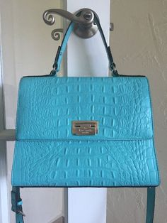 Kate Spade Orchard Valley Doris Satchel Chic Turquoise  #KateSpade #Satchel