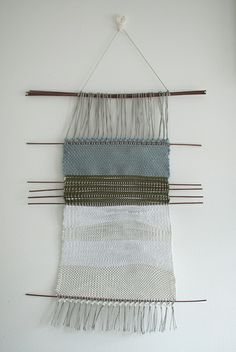 Finished Finnish inspired weaving by Jane Dallaway, via Flickr