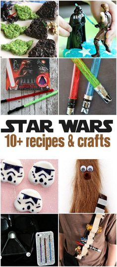 Over 10 Star Wars Recipes and Crafts