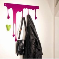 Very cool coat rack!
