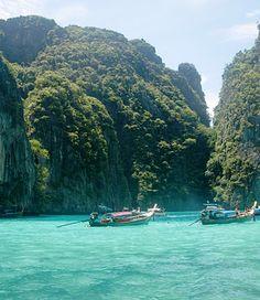 Maya Bay, Thailand 2011 , Love the water.