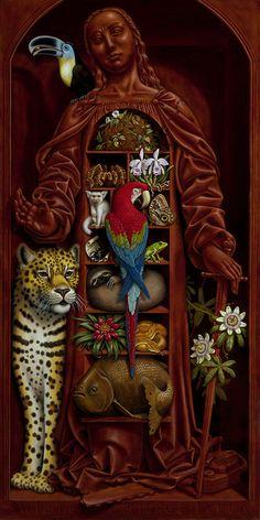 """Madeline von Foerster ~ """"Amazon Cabinet"""", 2008"""