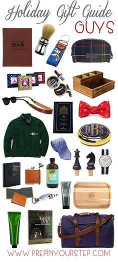 Holiday Gift Guide {Guys}