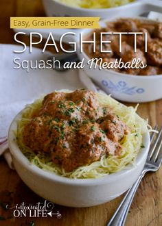 Spaghetti and meatballs is a classic dish. I don't think I've ever met anyone who didn't love it. But enjoying this while still eating grain-free can be a little tricky. My solution? Add more veggies! If you're grain-free, then spaghetti squash is definitely the way to go. It's easy to bake and shreds up quickly …
