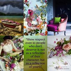 Respect Beautiful Collage, Beautiful Pictures, Beautiful Life, Life Quotes Family, Collages, Pot Pourri, Color Collage, Mood Colors, All Nature