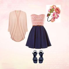 Think Pink by jemimahrankcom on Polyvore featuring polyvore fashion style Yves Saint Laurent BP.