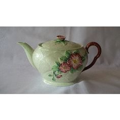 """SUPERB HALLMARKED VINTAGE CARLTON WARE """"TEA FOR TWO"""" TEAPOT IN PERFECT CONDITION for R180.00"""