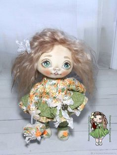 Купить Глашенька.Текстильная кукла.Авторская кукла.Интерьерная кукла в интернет магазине на Ярмарке Мастеров