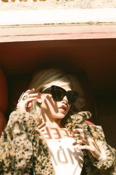 Veruca Tee, Donna Leopard Coat - sunnies coming soon!