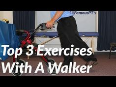 VIDEO: 5 Easy Balance Exercises for Seniors Using a Walker - DailyCaring