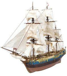 Ship model Bounty, wooden kit Occre (www.victoryshipmodels.com)