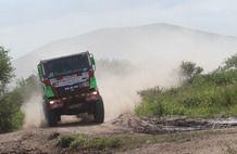 Dakar 2013, stage 9: San Miguel de Tucuman - Cordoba. Eurol VeKa MAN rally team