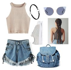"""""""Cafe"""" by giuliaaq on Polyvore featuring WithChic, adidas, Dance & Marvel and Fendi"""