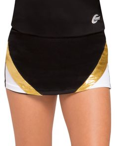 Be unmatched at every cheer competition with the stylish and form-fitting Force Skort, which matches the Chassé Performance® Force Shell Top. Cheer Competition, Cheerleading Uniforms, Team Wear, Shell Tops, Skort, Gym Shorts Womens, Swimsuits, Stylish, Fashion