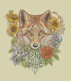 Poster | FOX GARDEN von Rachel Caldwell