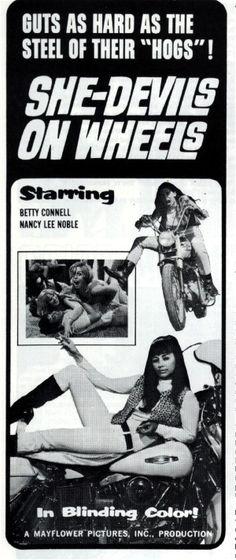 She-Devils on Wheels (Dir. Herschell Gordon Lewis)1968