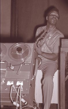 Magic Sam in Milwaukee, June 1968
