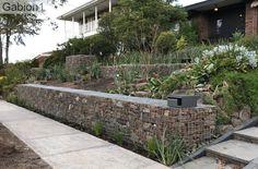 gabion terraced wall http://www.gabion1.com.au