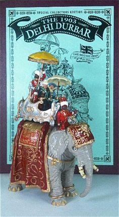 Britains Set #8848, The 1903 Delhi Durbar. Est. $40-$60.