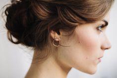 pebble earrings. love these