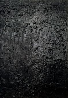 Black Paintings: Robert Rauschenberg