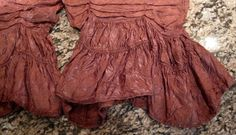 MAGNOLIA PEARL *PAPRIKA SILK DAMASK BLOOMERS*ONE SIZE *OOAK* ONE OF A KIND