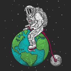 just a game - astronaut