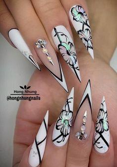 Nails | art | girl | polish | cute | makeUp