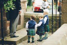 Kilts are always good on a man-no matter his age                              …