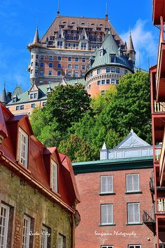 Chateau Frontenac Quebec City, Canada