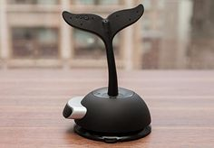 The Octa Vaccum Dock + WhaleTail Stand has an eye-catching design, is relatively lightweight, works with a variety of tablets, and its bendable tail allows you to prop up your device at various angles, $49.95. http://cnet.co/LKjOT4