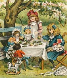 ~  Backyard Tea Party ~ Rita & I loved these! ~