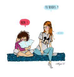 Soit je suis trop cash, soit je suis trop logique ...   #draw #drawing #illustrator #illustration #mamanado #merefille #love #caractere #mum #babygirl  Blog: tribulationsdunemamanado.com FB : tribulationsdunemamanado  Alizée T.