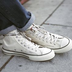 8e5cd7903336 One of Streetwear s Buzziest Young Designers Just Flipped Two Iconic  Converse Sneakers Inside-Out