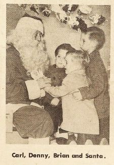 26 - December 24th - Santa and the tiny Wilsons [The Brians of Christmas]