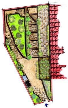 Giardino d'amore, Giardino segreto a Buggiano Castello