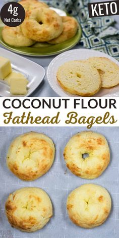 A recipe for low carb bagels using a coconut flour Fat Head dough. It's sure to become a regular breakfast item for those on a Atkins or keto diet.