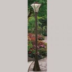 Tuscanor - Traditional Exterior LED Lamp Post
