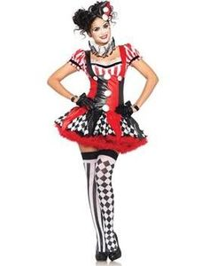 female clown costume - Google Search