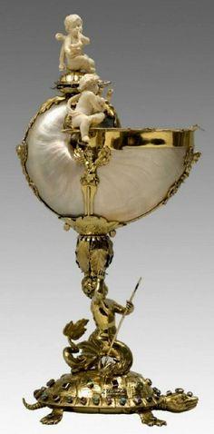 Nautilus Cup. 1625-50 More