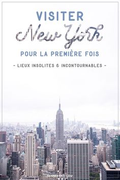 - Vacation Ideas - New York bonnes adresses - Voici quelques bonnes adresses de lieux incontournabl. New York Good Places - Here are some great places to go and some unusual tours if you are traveling to New York for the first time! New York Travel Guide, New York City Travel, New Travel, Travel Usa, Voyage Usa, Voyage New York, Business Trip Packing, New York Vacation, Visiting Nyc