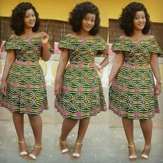 Creative and Stunning Ankara Short Gowns for Beautiful Ladies.Creative and Stunning Ankara Short Gowns for Beautiful Ladies African Print Dresses, African Print Fashion, Africa Fashion, African Fashion Dresses, African Dress, Unique Ankara Styles, Ankara Short Gown Styles, Latest Ankara Styles, Short Gowns
