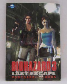 Biohazard 3 Last Escape Postcard Book