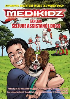 A Seizure Assistance Dog Named Flame Is a Comic Book Hero | Dogster