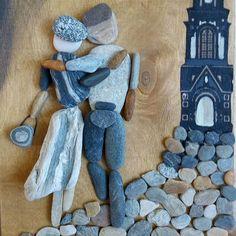 www.facebook.com/kavicsmuvesz #stoneart #stone #pebbleart #pebble